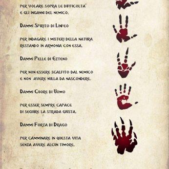 Preghiera degli Uomini delle Isole dell'Ovest.