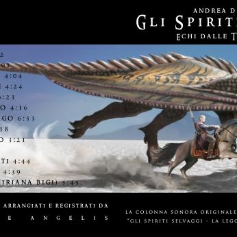 Copertina Gli Spiriti Selvaggi - Echi dalle Terre di Asha